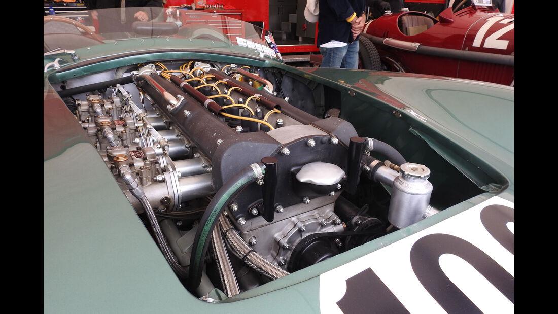 1957 Aston Martin DBR2 - Monterey Motorsports Reunion 2016 - Laguna Seca