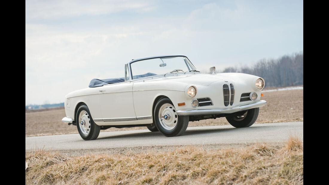 1957 BMW 503 Cabriolet by Bertone