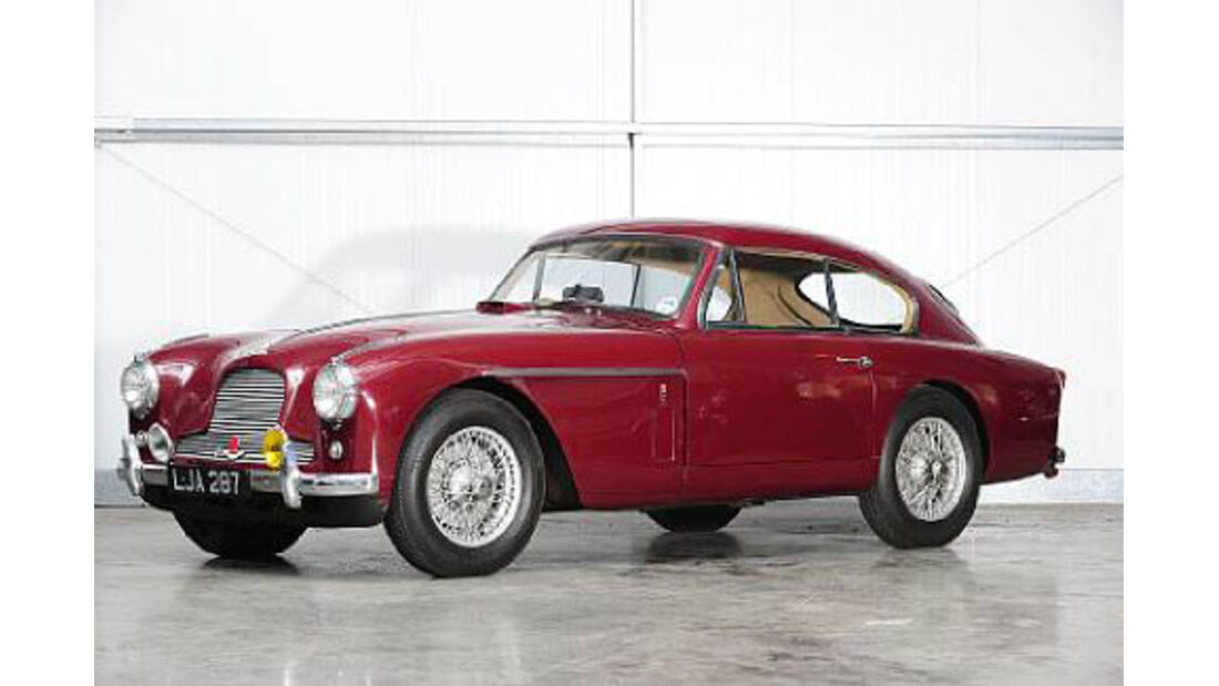 1957er Aston Martin DB2/4 MkII Saloon