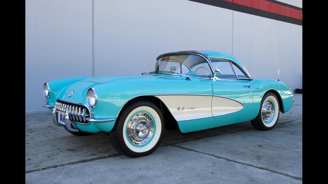 1957er Chevrolet Corvette Fuel-Injected Roadster