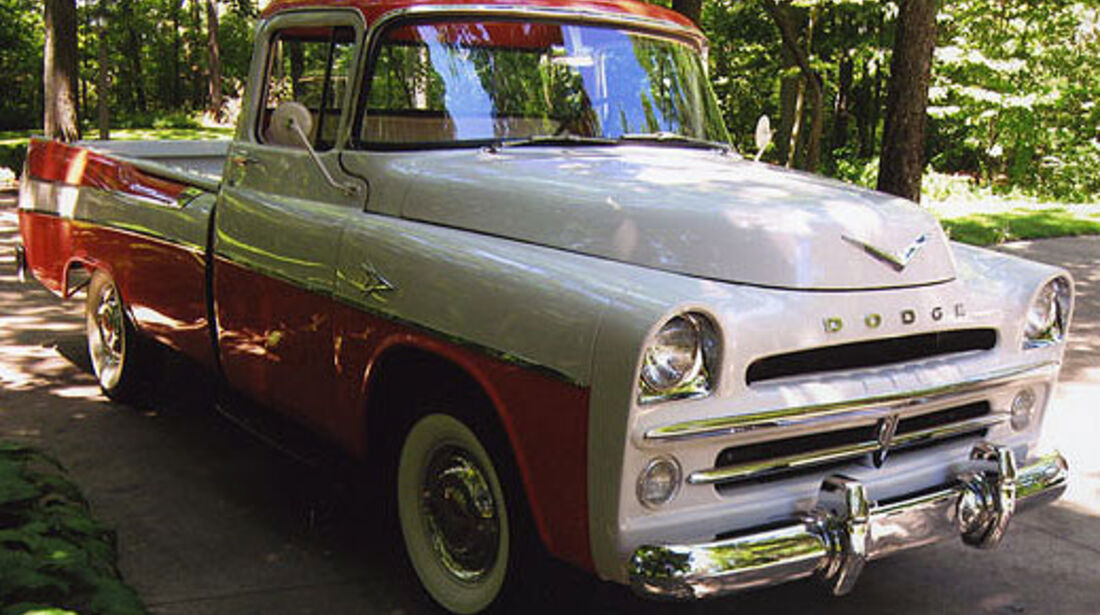 1957er Dodge V100 Sweptside Pickup