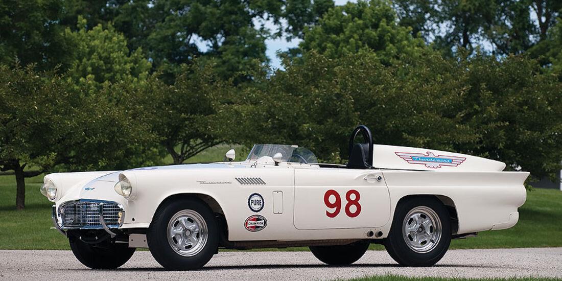 1957er Ford Thunderbird # 98 Factory Racing Car