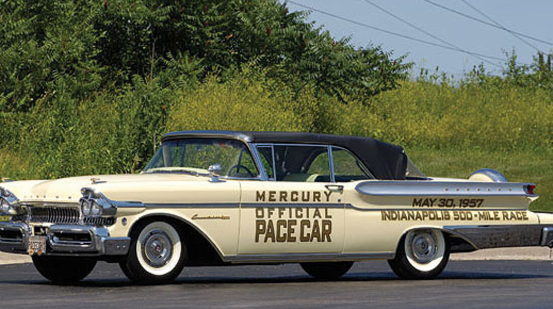 1957er Mercury Turnpike Cruiser Convertible