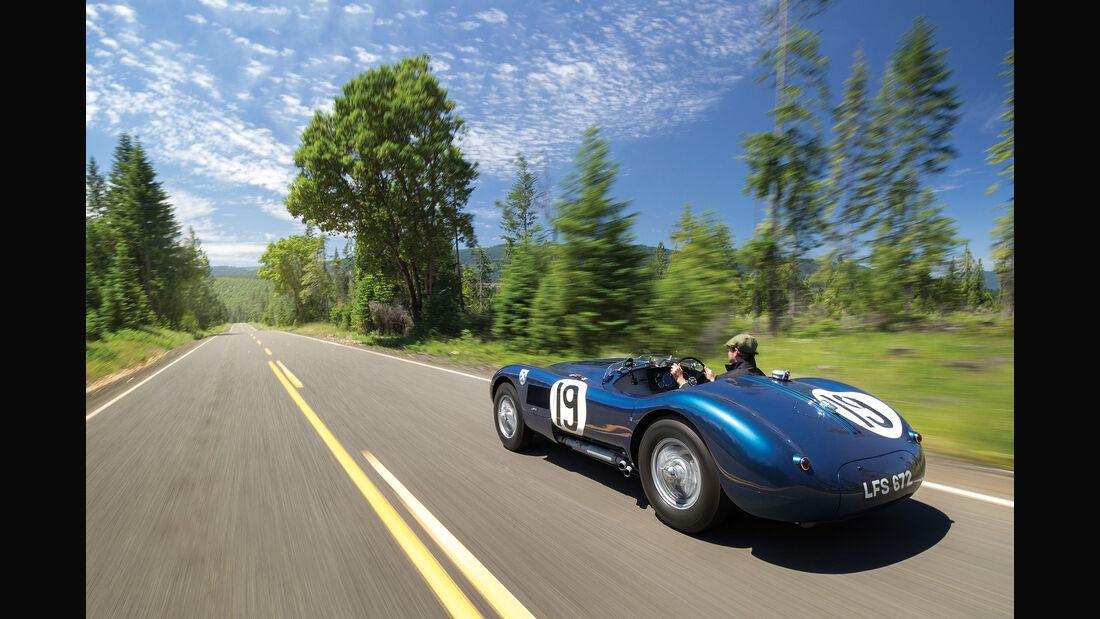 1958 Jaguar C-Type Works Lightweight Roadster