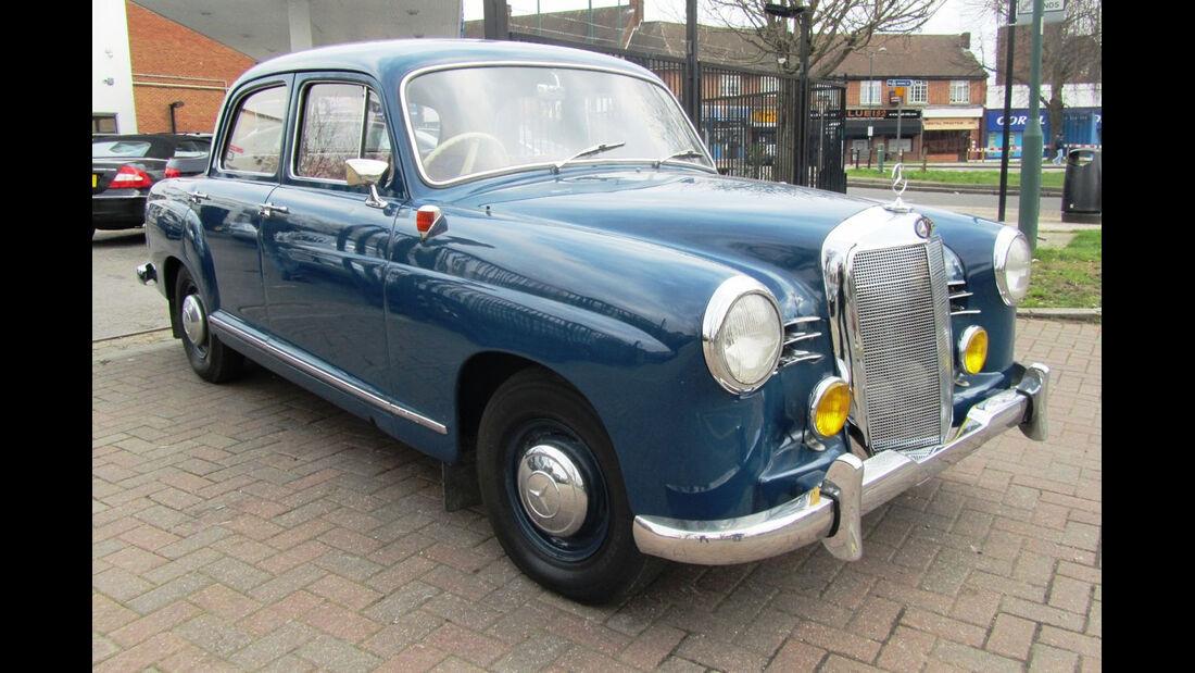 1958 Mercedes-Benz 180a.