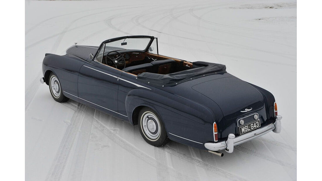 1958er Bentley S1 DHC H.J. Mulliner