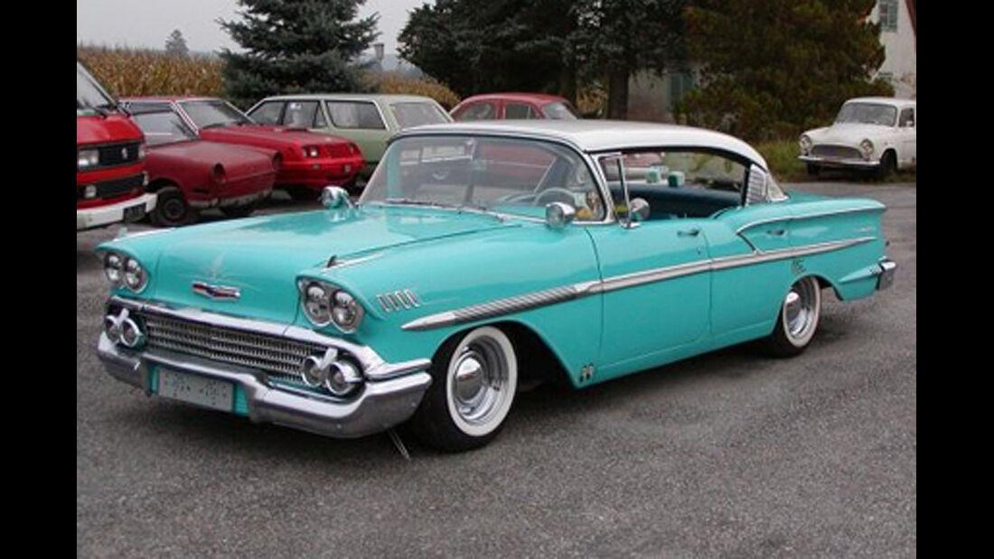 1958er Chevrolet Bel Air Super Custom