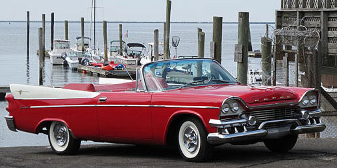 1958er Dodge Coronet Super D-500 Convertible