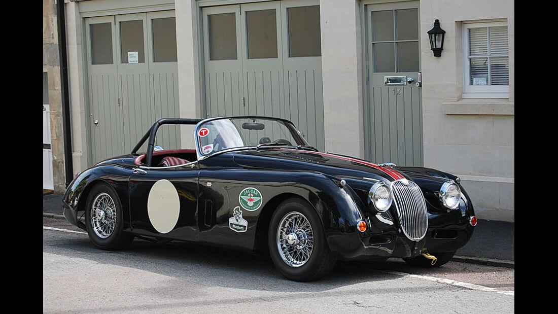 1958er Jaguar XK150 Roadster
