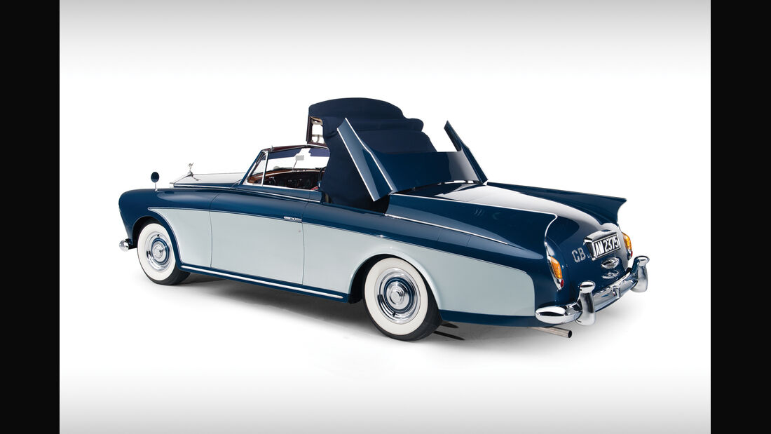 1958er Rolls-Royce Silver Cloud I Honeymoon Express Two-Seater Drophead Coupé