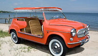 1959 Fiat 600 Jolly Beach Car - Frontansicht