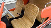 1959 Fiat 600 Jolly Beach Car - Korbsitze