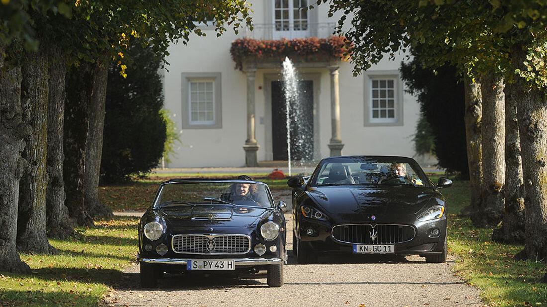 1959 Maserati 3500 GT Vignale Spyder, 2011 Maserati Grancabrio