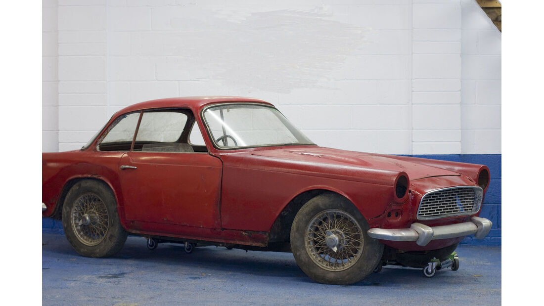 1959 Triumph Italia Coupé.