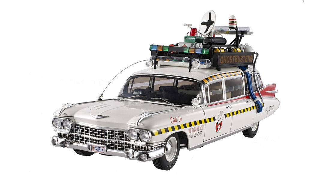 1959er Cadillac, Ghostbusters, Hot Wheel Filmautoklassiker 2013