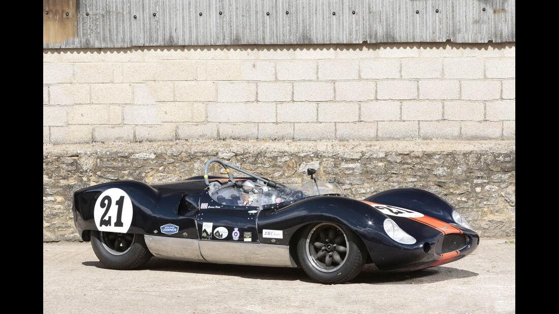 1959er Cooper Monaco T49 Mk1 Sports-Racing Zweisitzer