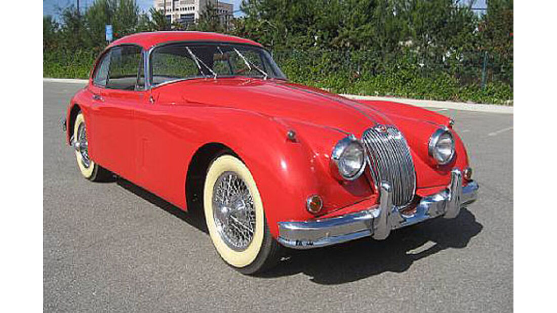 1959er Jaguar XK150S