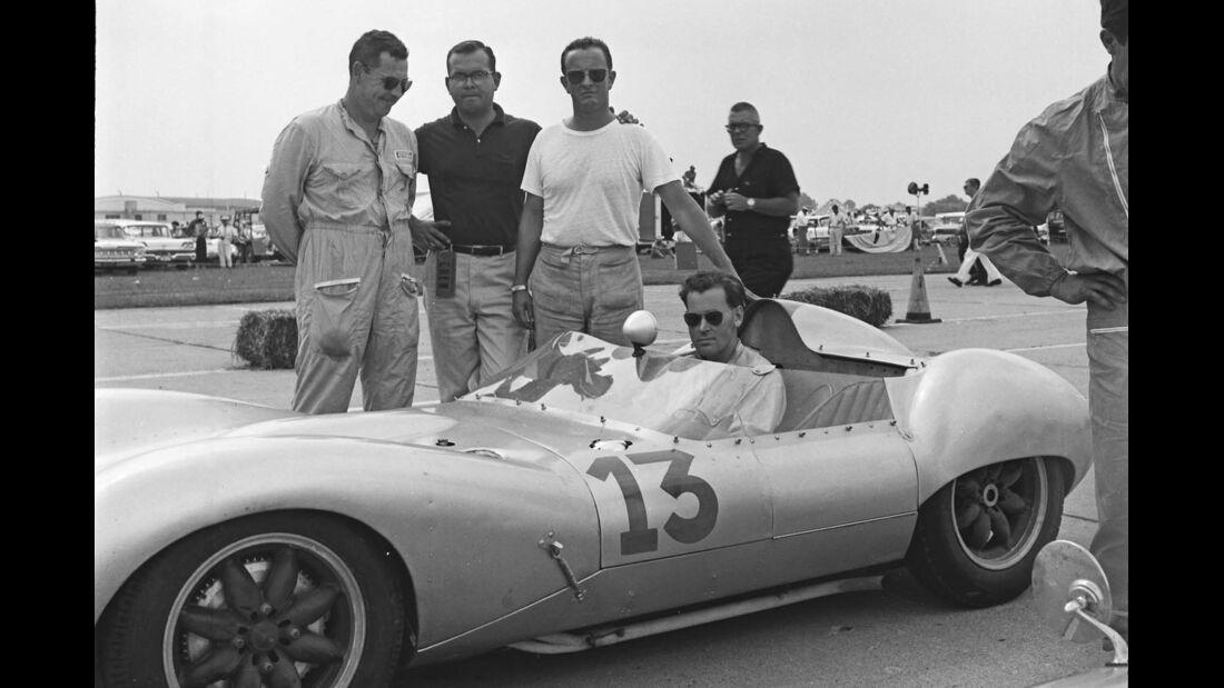 1959er Lola Mark 1-Climax Sports-Racing Zweitsitzer