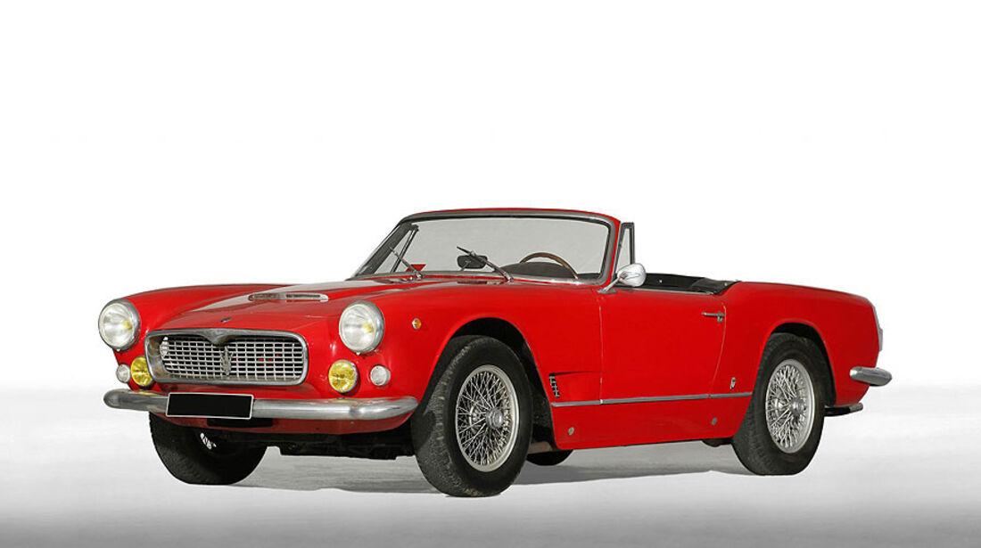 1960 Maserati 3500 GT Spyder Vignale mit Hardtop-top d'usine