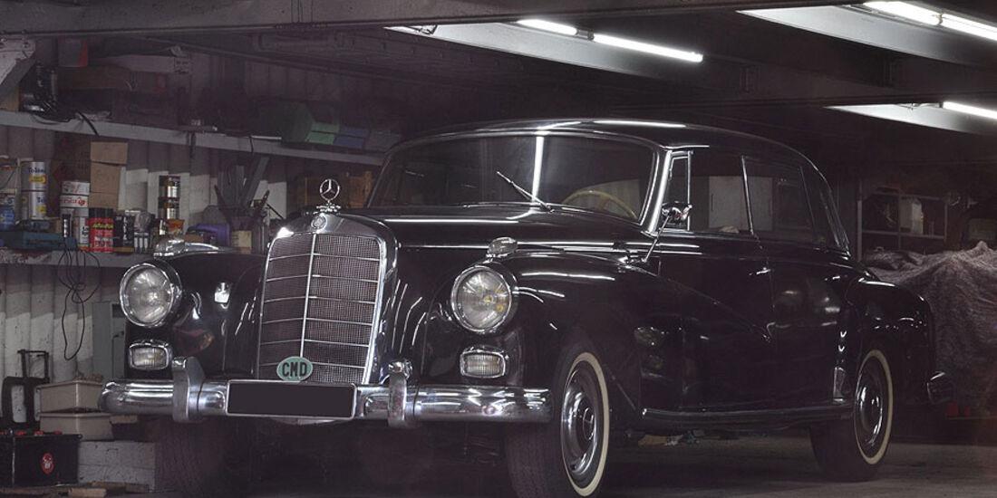 1960 Mercedes Benz 300d Limousine sans montants