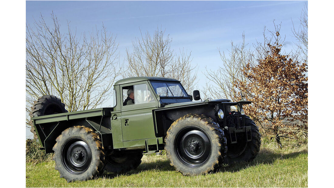 1960's Limited Edition Series II Land Rover - The Forest Rover