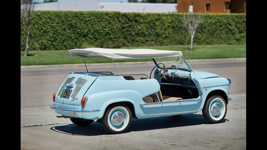 1960er Fiat 600 Jolly mit Ghia-Karosserie