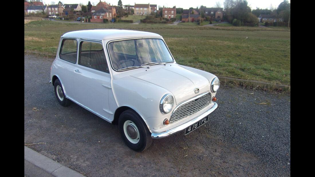 1961 Austin Mini Seven.