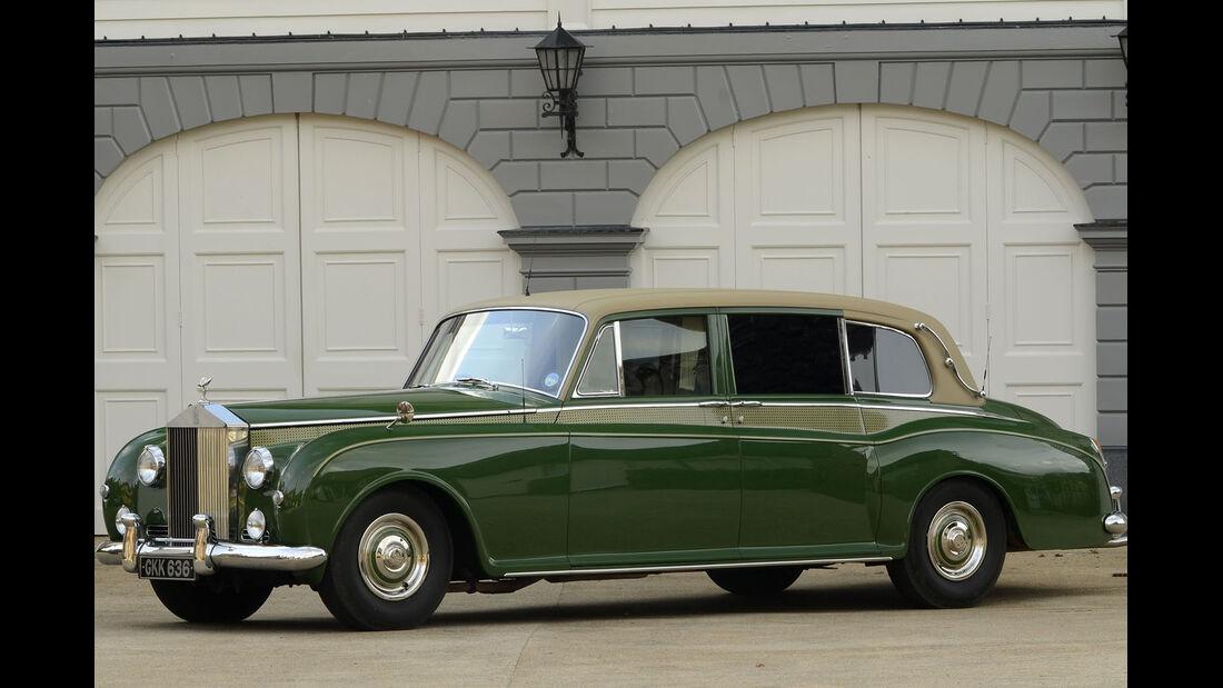 1961 Rolls-Royce Phantom V Limousine.