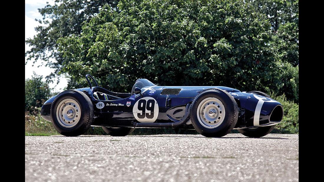 1961er Ferguson Climax P99 Four-Wheel-Drive F1 Racing Car