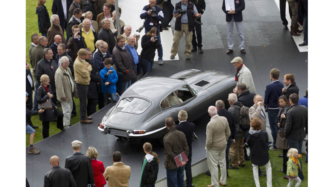 1961er Jaguar e-type