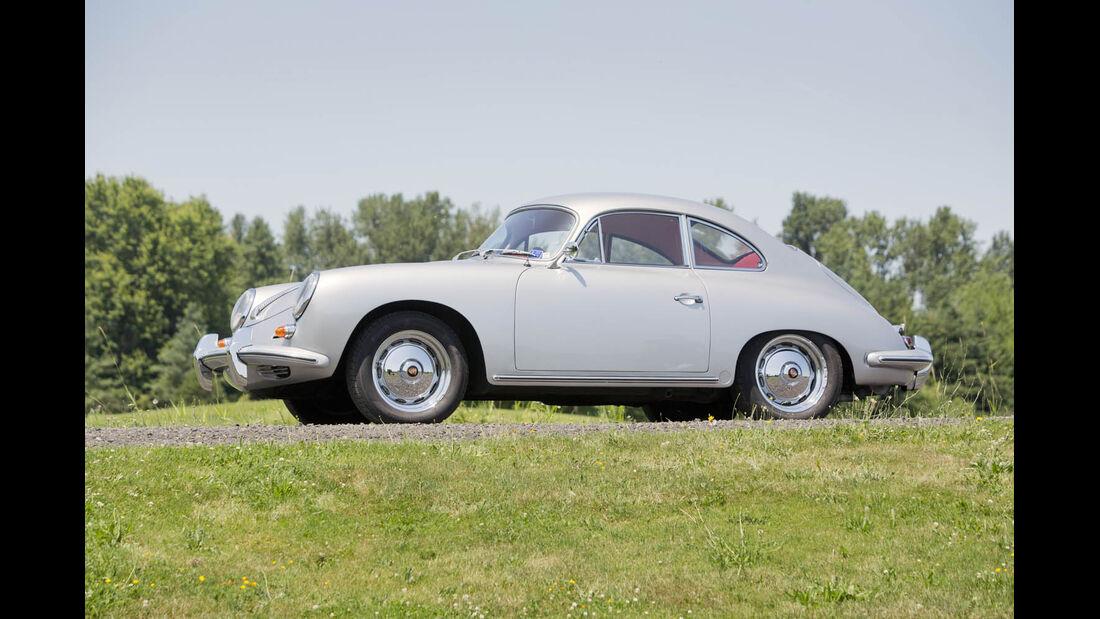1961er Porsche 356B 1600 Super Coupe
