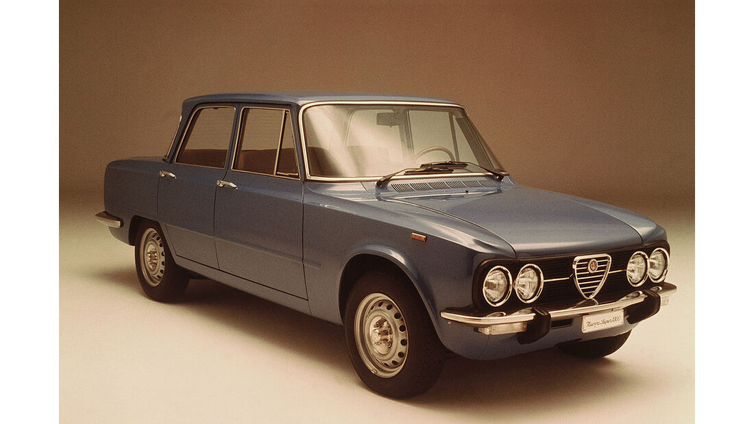 1962-1978 Alfa Romeo Giulia Berlina