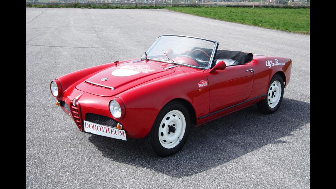 1962er Alfa Romeo Giulia Spider