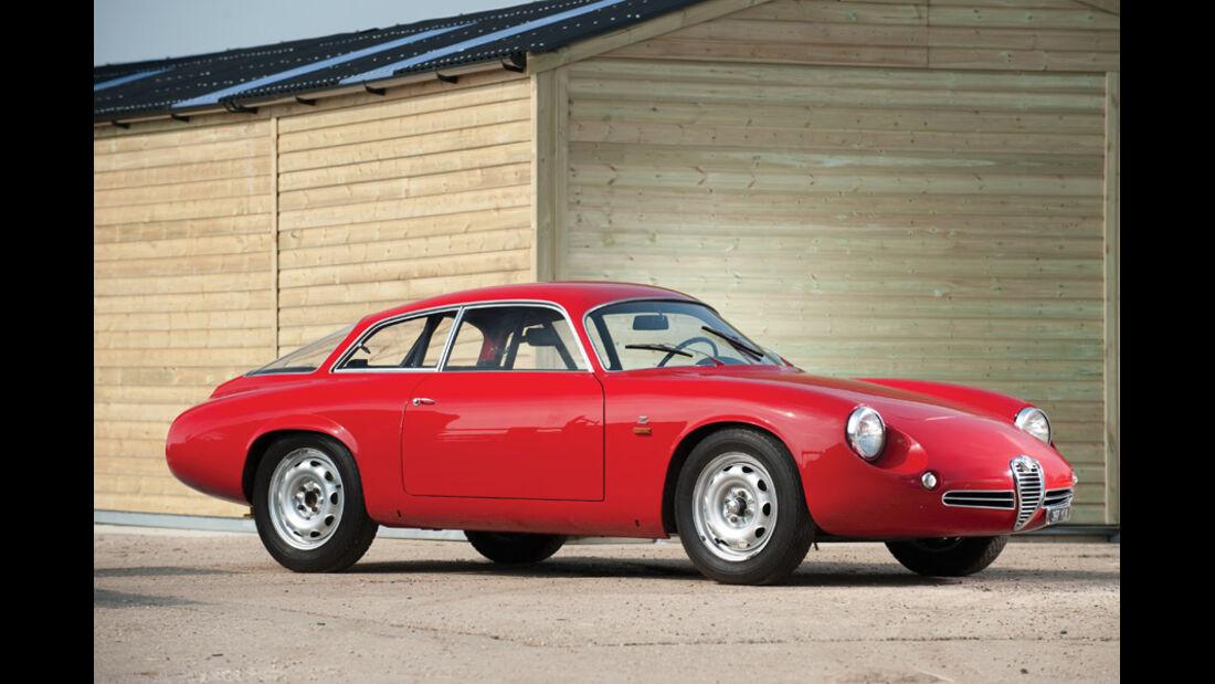 1962er Alfa Romeo Giulietta Sprint Zagato 'Coda Tronca'