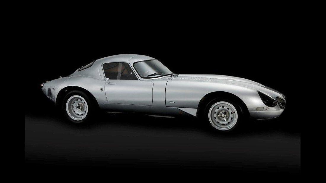 """1963/64er Jaguar E-Type Lightweight """"Low Drag"""" (Ex-Peter Lindner)"""