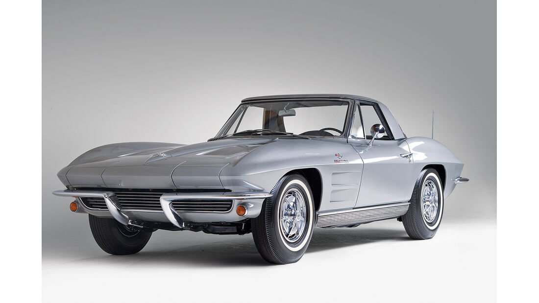 1963 Chevrolet Corvette Sting Ray Fuel-Injected Convertible