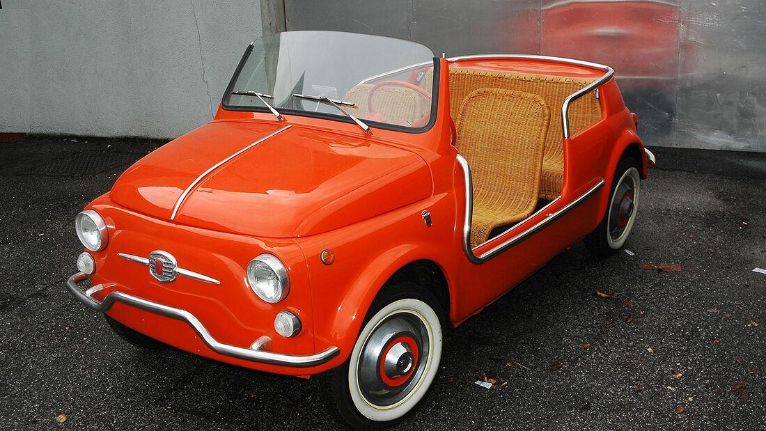 1963 Fiat 500D Jolly Beach Car Carrozzeria Ghia