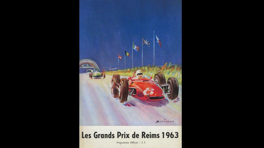 1963 - GP Frankreich - F1-Programm - Cover