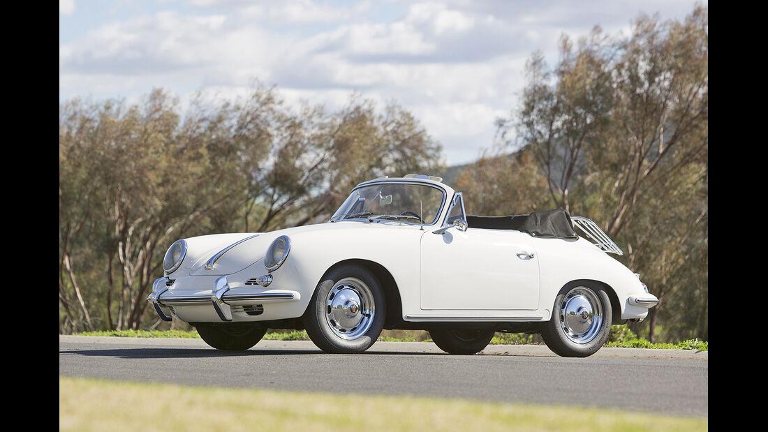 1963 Porsche 356B 1600 Super 90 Cabriolet by Reutter