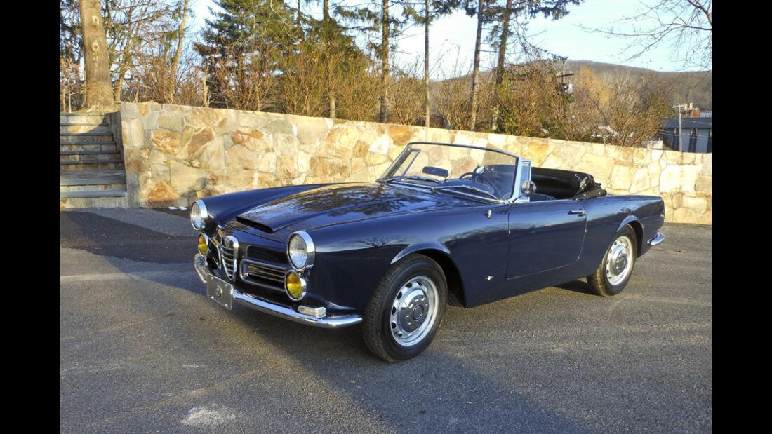 1963er Alfa Romeo 2600 Spider