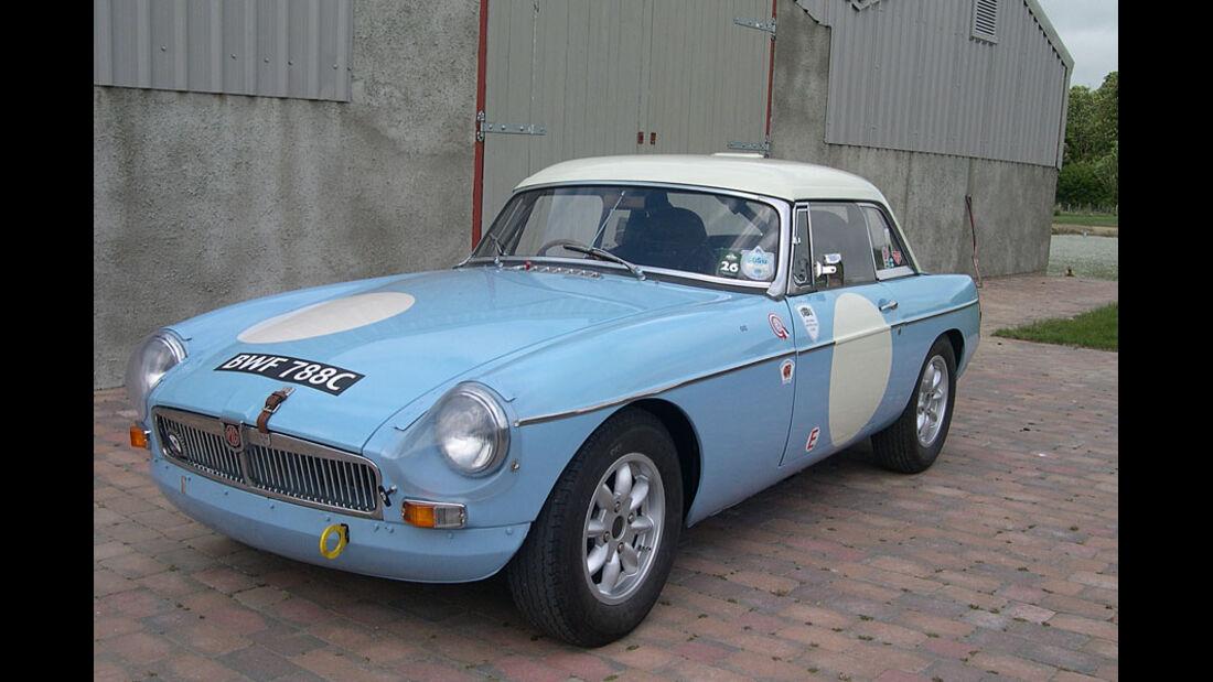 1964er MGB Roadster Rally Car