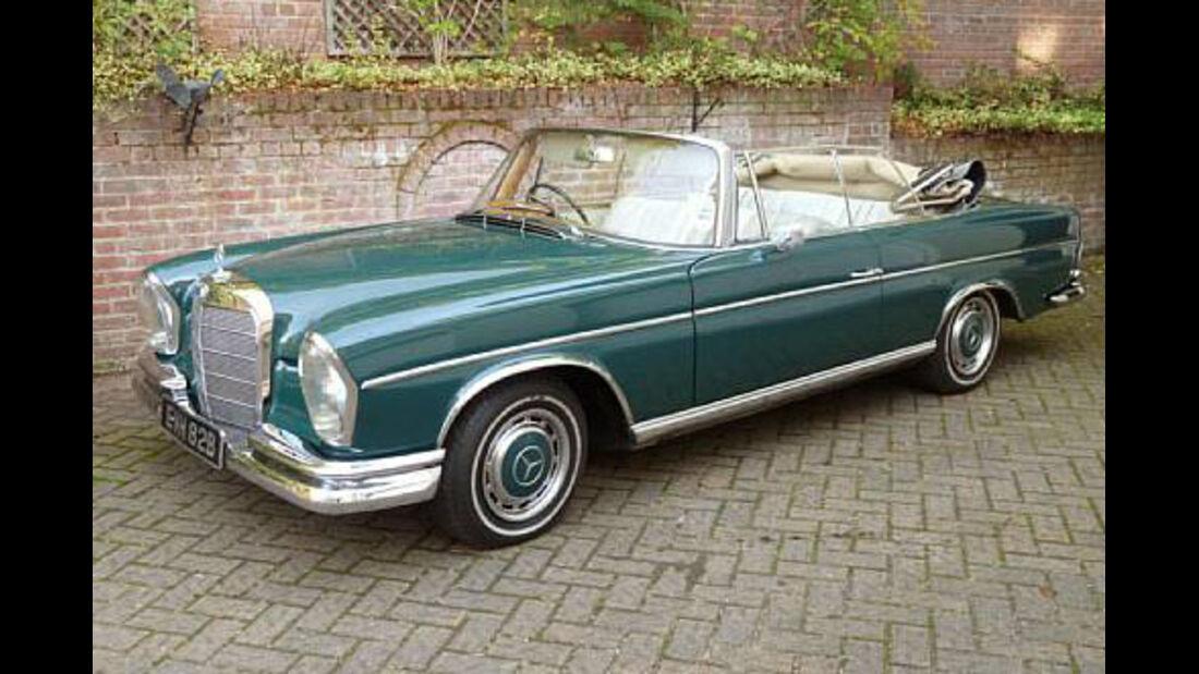 1964er Mercedes-Benz 300SE Convertible