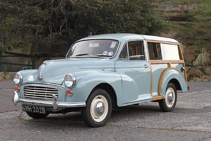1964er Morris Minor 1000 Traveller