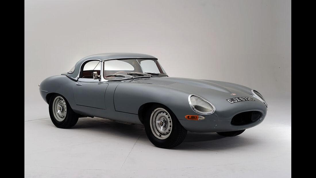 1964er 'Semi-Lightweight' Jaguar E-Type Two-Seat Roadster
