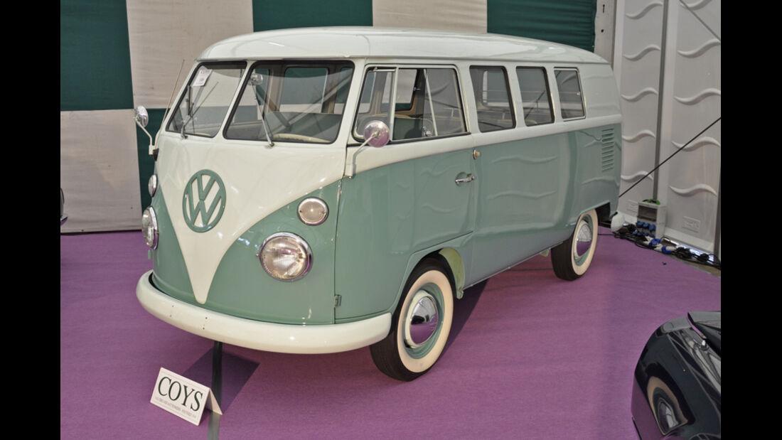 1964er VW T1 Bus, Auto der Coys-Auktion auf dem AvD Oldtimer Grand-Prix 2010