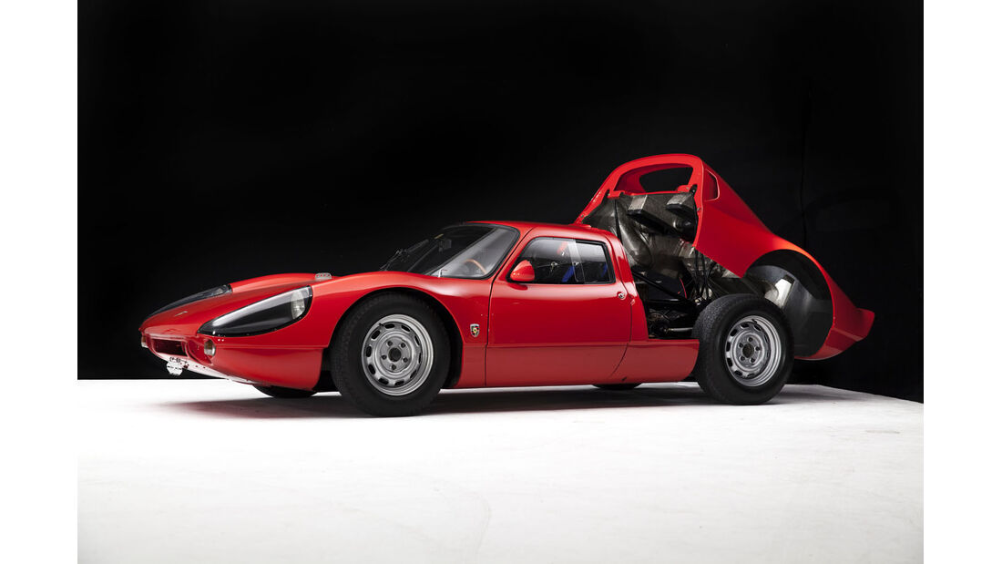 1964er Works Prototype Porsche 904/6 Carrera GTP