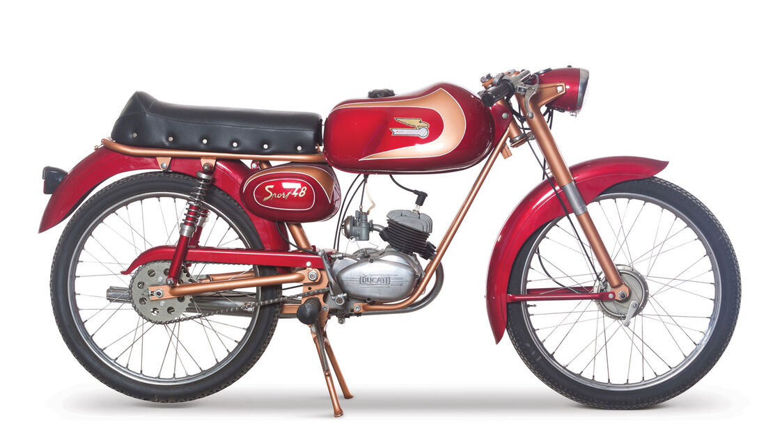 1965 Ducati 48 Sport RM Auctions Monaco 2012