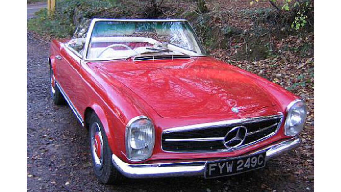 1965er  Mercedes-Benz 230SL Convertible