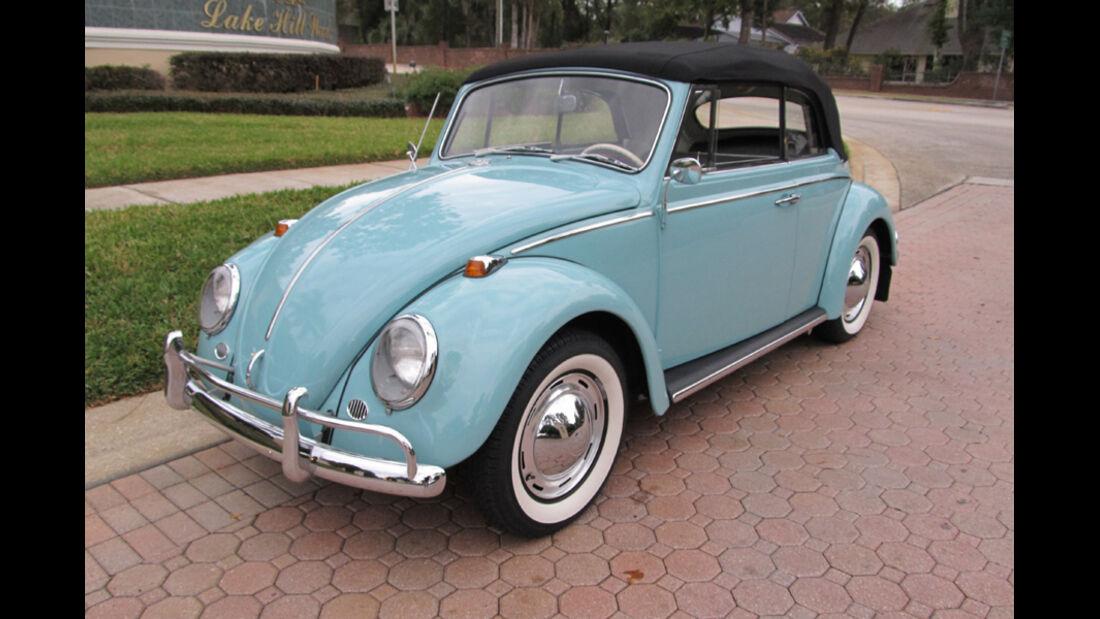 1965er Volkswagen Beetle Cabriolet