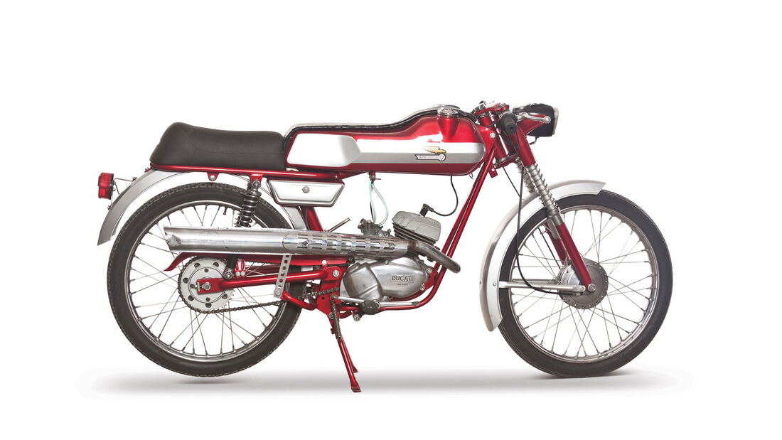 1966 Ducati 50 Sport SL1 RM Auctions Monaco 2012